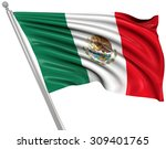 flag of mexico   this is a... | Shutterstock . vector #309401765