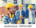 business  building  teamwork... | Shutterstock . vector #309411485