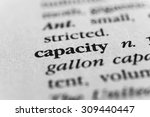 Small photo of Capacity