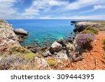 greece coastline landscape | Shutterstock . vector #309444395