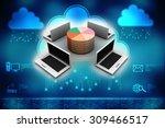 computer network | Shutterstock . vector #309466517