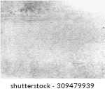 grunge halftone vector... | Shutterstock .eps vector #309479939
