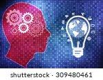 digital abstract technology... | Shutterstock . vector #309480461