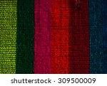 romanian folk seamless pattern...   Shutterstock . vector #309500009