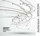 vector tornado abstract... | Shutterstock .eps vector #309515294