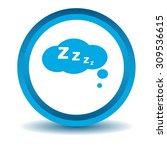 sleeping bubble icon
