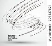 vector tornado abstract... | Shutterstock .eps vector #309537824