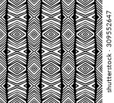 line rhombus vector seamless...   Shutterstock .eps vector #309552647