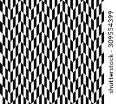 black and white optical... | Shutterstock .eps vector #309554399