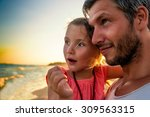 father and child explaining the ...   Shutterstock . vector #309563315