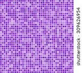 Purple Square Pixel Mosaic...