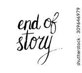 conceptual handwritten phrase... | Shutterstock .eps vector #309646979