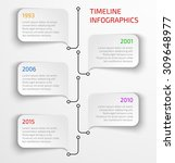modern timeline infographic...   Shutterstock .eps vector #309648977