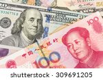 Us Dollar And Chinese Yuan...