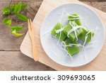 Green Coconut Sweet Pudding...