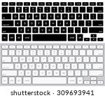 vector modern computer... | Shutterstock .eps vector #309693941