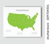 business investment usa map...