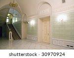 stairway inside luxury...   Shutterstock . vector #30970924