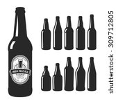 set of 10 various craft beer...