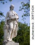 vienna   statue of baron for...   Shutterstock . vector #30971434