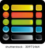 buttons and panels applied at... | Shutterstock . vector #30971464