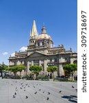 monuments of guadalajara ... | Shutterstock . vector #309718697