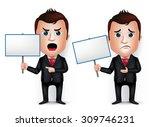 3d Realistic Businessman...