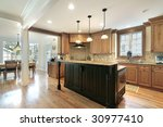 kitchen and eating area | Shutterstock . vector #30977410