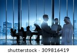 business people meeting... | Shutterstock . vector #309816419