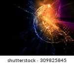 abstract background. detailed... | Shutterstock . vector #309825845