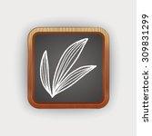 plant doodle | Shutterstock .eps vector #309831299