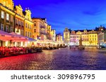 poznan  poland   july 5  main... | Shutterstock . vector #309896795