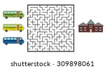 Maze Game For Children. Find...