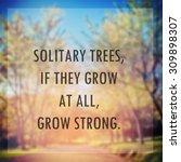 inspirational motivational life ... | Shutterstock . vector #309898307