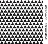 monochrome grid pattern of... | Shutterstock .eps vector #309904235
