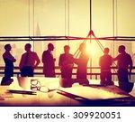 business people meeting... | Shutterstock . vector #309920051