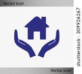 house vector icon | Shutterstock .eps vector #309926267
