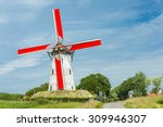 Traditional Holland Windmill...
