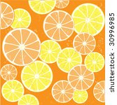 citrus background  with fine... | Shutterstock .eps vector #30996985