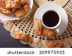 Coffee And Italian Cookies Wit...