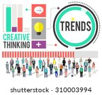 trends fashion marketing... | Shutterstock . vector #310003994