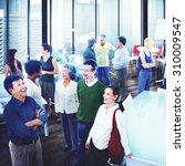 business people team teamwork... | Shutterstock . vector #310009547
