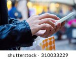 shopping women looking a... | Shutterstock . vector #310033229