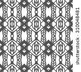 vector seamless pattern.... | Shutterstock .eps vector #310048481