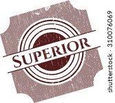 superior grunge seal | Shutterstock .eps vector #310076069
