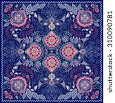 ornamental paisley pattern ... | Shutterstock .eps vector #310090781