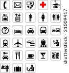usual symbols | Shutterstock .eps vector #31009417