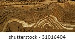 folds in rock caused by...   Shutterstock . vector #31016404