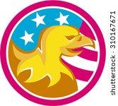 illustration of an american... | Shutterstock .eps vector #310167671