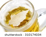 beer head  in the shaped of san ... | Shutterstock . vector #310174034